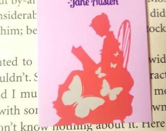 Jane Austen magnetic bookmark