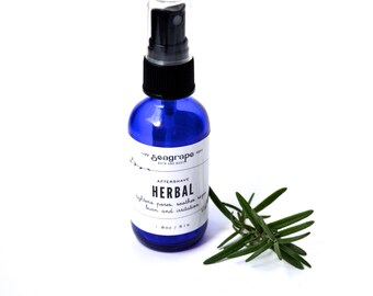 4oz Herbal Aftershave Splash with aloe and calendula