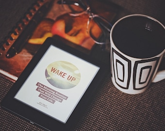 WAKE UP eBook - How to Create a Morning Routine That Will Change Your Life - Self-Growth, Productivity, Habits, Meditation - by Jeff Finley