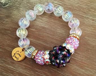 Stretch Bead Bracelet – Large Bead Bracelet, Our Top Selling Bracelet for Spring 201