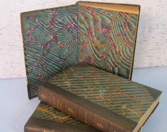 Set of Books by Paul De Kock / Leather Bound Vintage Books