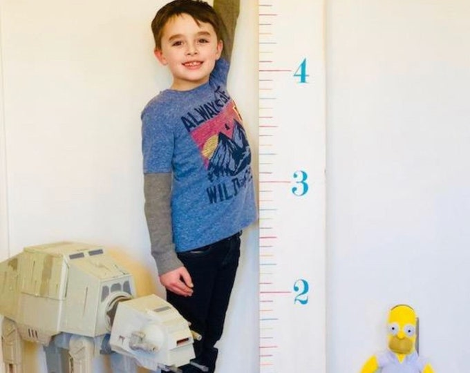 Colorful Growth Chart Ruler. Growth Chart Wood. Ruler Growth Chart. Height Ruler. Kids Measure Chart. Wall Ruler. Wood Ruler Growth Chart.