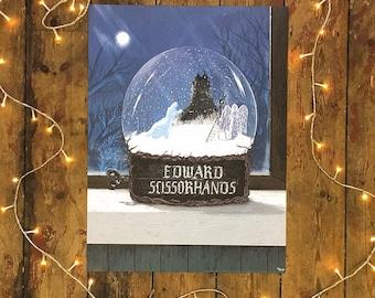 Official Edward scissorhands poster.