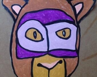Super Cat - Original Drawing
