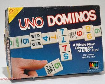 Uno Dominos Game 1987 COMPLETE (read description)