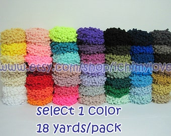 1 Pack Large Pom Pom Trim (pom size 1.2 cm), Pom Pom Trim, Trim set, Wholesale trim, Pom Pom Fringe, Rainbow Trim, Big pom pom Trim, Pom