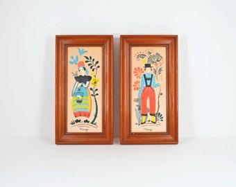 2 Margo Alexander framed prints