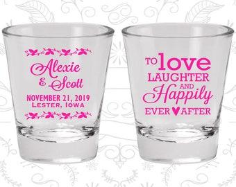 Custom Shot Glasses, Shot Glasses, Shot Glass, Wedding Favors, Wedding Shot Glasses, Personalized Shot Glasses, Custom Shot Glass (C32)