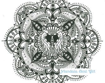 Mandala Soul Art - Angels & Butterflies