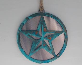 Patina Large Star Ornament