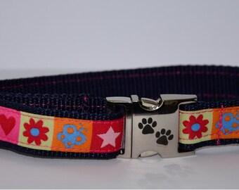 Dog collar, wheaten terrier