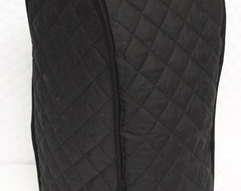 Black Quilted Blender Cover