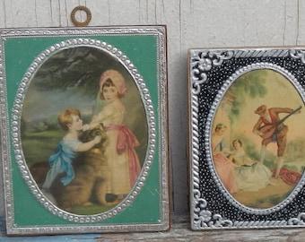 Vintage Miniature Foil Prints!