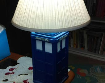 Dr Who,Police Box Lamp, Home Decorations, Fathers Day, Mothers Day,