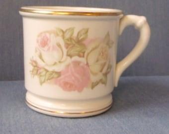 Vintage Pastel Floral Mug
