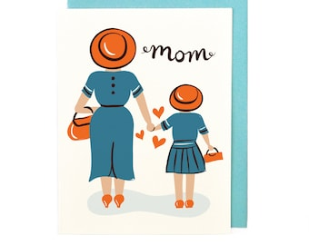 Mom from Daughter Card