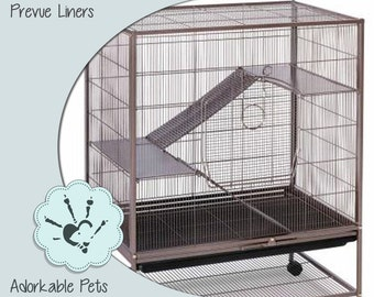 Prevue Hendryx Earthtone Dusted Rose Rat & Chinchilla Cage 495 cage liners Rat Cage Liner - Sugar Glider Cage Liner