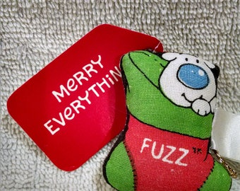Fuzz Ziggy Dog Tom Wilson Vintage Christmas Ornament