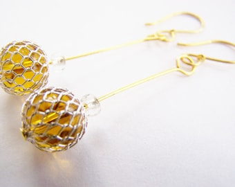 Glass Japanese Fishing Float Earrings - Free shipping WAI - Affordable gifts for everyday wear - bridesmaids sets available - sale items