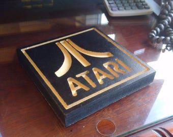 Atari Logo Retro Sign for Office, Man Cave, Wherever!