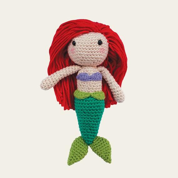 Ariel - Disney Princess. Amigurumi Pattern PDF.