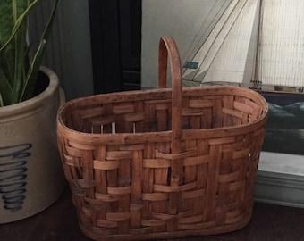 Basket-Oval-antique-vintage