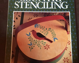 Vintage 1988 Better Homes and Gardens Country Stenciling Book
