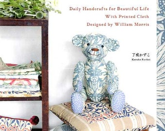 Daily Handcrafts for Beautiful Life with Printed Cloth Designed by William Morris  - Japanese Craft Book MM
