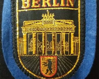 Berlin Brandenburger Tür Patch Deutschland Jahrgang