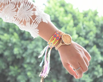 Mexican Woven Bracelets / Bracelets / Colorful Bracelets / Mexican party