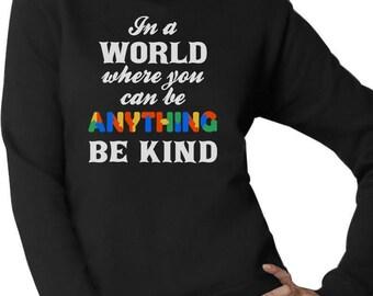 Be Kind - Autism Awareness Women Sweatshirt