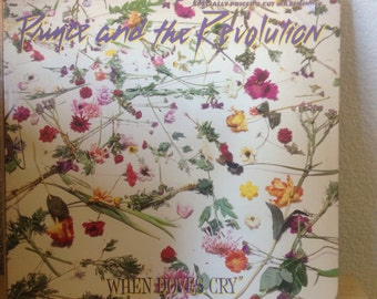 "Prince And The Revolution - When Doves Cry (12"" Maxi-Single) - Vinyl"