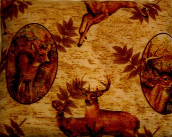 Hand Crafted Small Deer Print Therapeutic Rice Bag