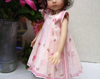 """PDF Hanky  Dress Pattern for 10"""" to 16"""" Doll"""