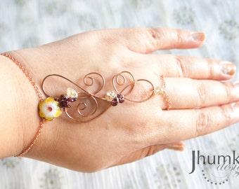 Vibha /// Slave Bracelet by Jhumki Luxe - designs by raindrops