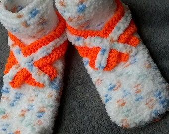 Adult slippers / slippers adults / knitted slippers
