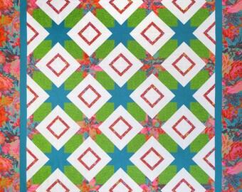 Floral Burst Quilt Pattern