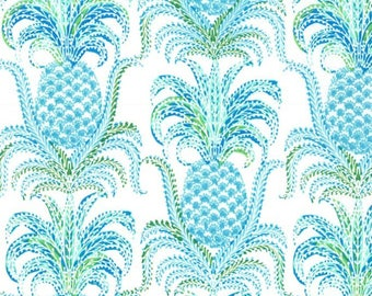 Pineapple Express in Isle from the Tradewinds Collection by Michael Miller Fabrics, South Pacific, Hawaiian