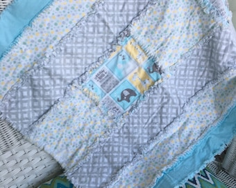 Dream big flannel rag blanket REDUCED to 25!!!!!