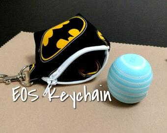 EOS Lip Balm Keychain Batman