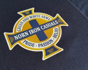 Northern Ireland Football Fan Tribute T-shirt GAWA