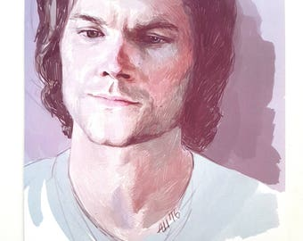 Sam Winchester. Purple