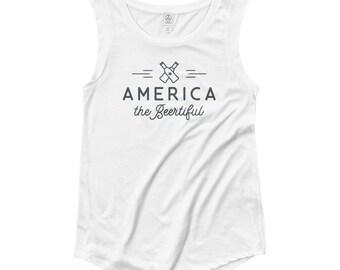 America the BEERtiful (Women's Tank)
