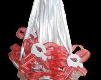 Arizona  Cardinals (12) Baby Shower Pacifier Necklace
