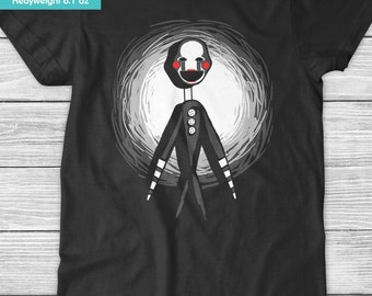 New FNAF Five Nights at Freddy's The Puppet Youth Kids Shirt and Toddler Shirt Sizes
