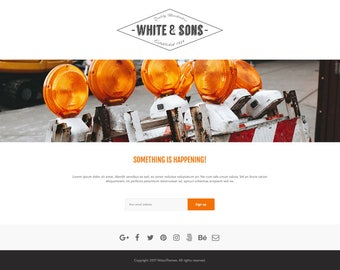 CMP – Coming Soon & Maintenance Plugin for Wordpress by NiteoThemes | Landing Page