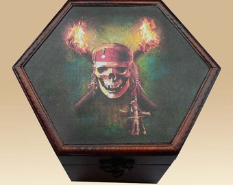 Skull Pirate Torched