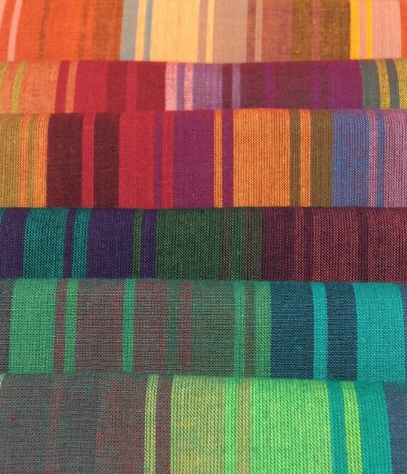 FQ Pack Exotic Stripe Woven by Kaffe Fassett