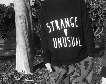 Kids' Strange and Unusual Lydia Deetz Beetlejuice  Long Sleeve Shirt