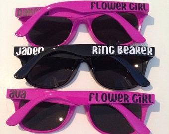 Ring Bearer Gift, Flower Girl Gift, Ring Security, Child Size Sunglasses